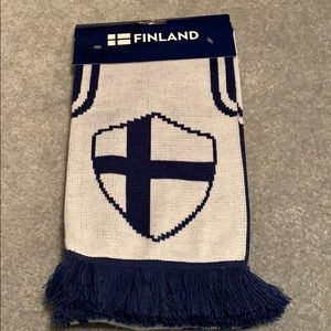 Blue & White Official Scarf purchased in Finland